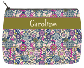Fancy Floral Designer Bag - Large