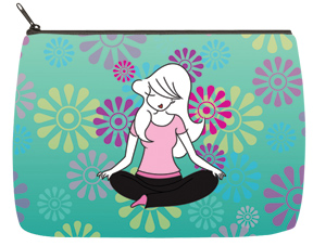 Yoga Cosmetic Bag - Large