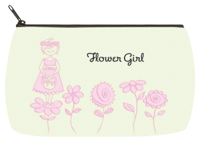 Flower Girl Flowers Bridal Bag - Small