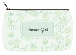 Floral Green Bridal Bag - Small