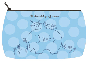 Boy Elephant & Friends Baby Bag - Small