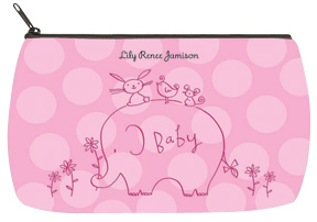 Girl Elephant & Friends Baby Bag - Small