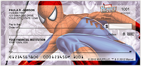 Marvel Heroes Checks - 8 superheroes