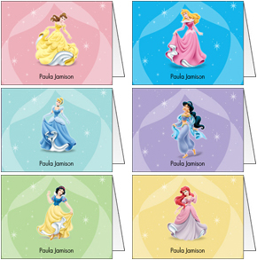Disney Princess Folded Note Set