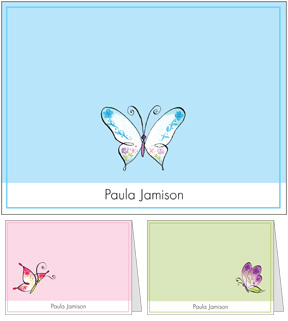 Butterfly Wings Notes Set