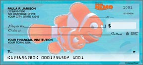 Finding Nemo Personal Checks - 4 images
