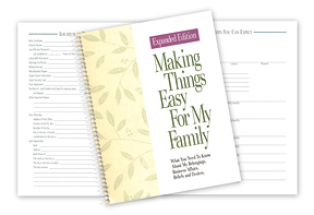 Making Things Easy Expanded Edition Organizer