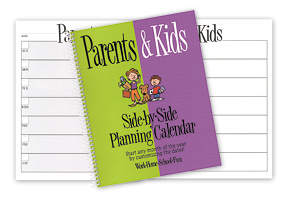 Parents & Kids Side-by-Side Organizer