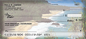 Paradise Waters Personal Checks - 4 images