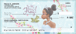 Princess & The Frog Personal Checks