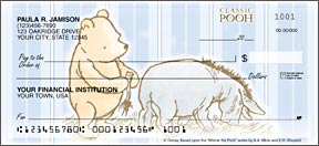 Classic Pooh and Eeyore Checks