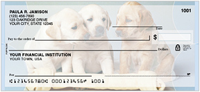 Puppy Love Assorted Personal Checks