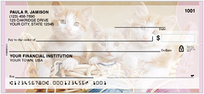 Purrfect Kittens Personal Checks - 4 images