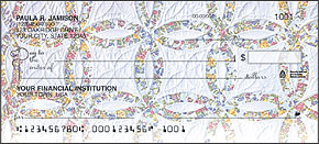 Quilts Personal Checks - 4 images