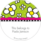 LKD Daisy Collage Gift Labels