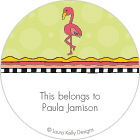 LKD Palm Trees & Flamingos Gift Labels