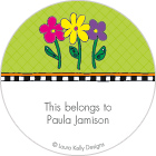 LKD Spring Flowers Gift Labels
