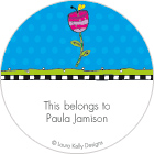 LKD Tulip Dots Gift Labels