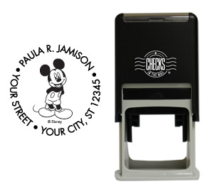 Smiling Mickey Stamp