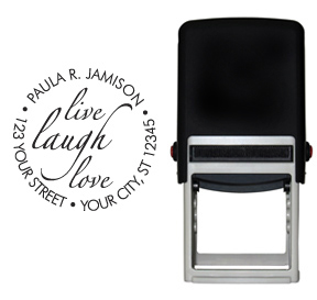 Live, Laugh, Love Stamp