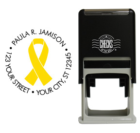 Yellow Ribbon Awareness Stamp