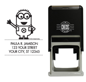 Minions Tom Waving Stamp