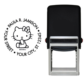 Hello Kitty� Stamp - Black