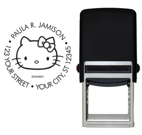 Retro Hello Kitty� Stamp - Black