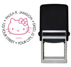 Retro Hello Kitty� Stamp Black/Pink