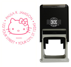 Retro Hello Kitty� Stamp - Pink