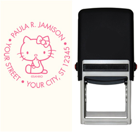 Hello Kitty� Stamp - Pink