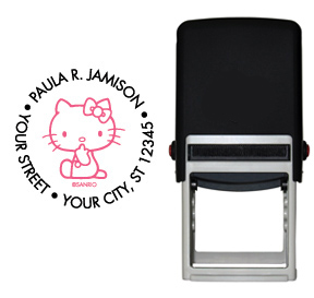 Hello Kitty� Stamp - Black/Pink