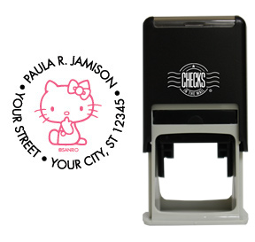 Hello Kitty® Stamp - Black/Pink