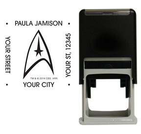 Star Trek Badge Stamp