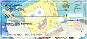 SpongeBob SquarePants Personal Checks - 4 scenes