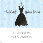 Little Black Dress Gift Labels