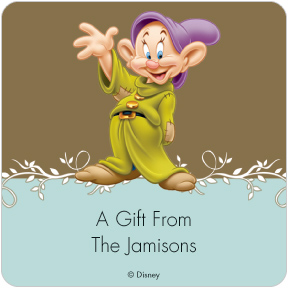 Dopey Gift Labels