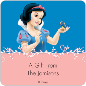 Snow White Gift Labels
