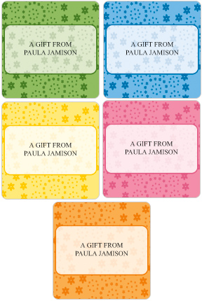 Daisy Gift Labels