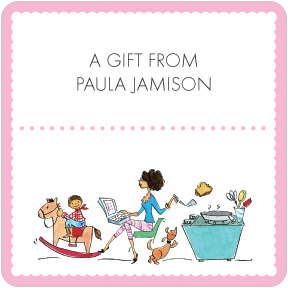 Perfect Mom E-mailing Gift Labels