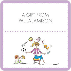 Perfect Mom Juggling Gift Labels