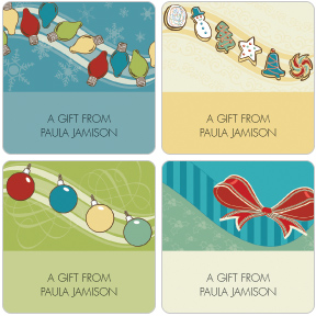 Holiday Decor Gift Labels