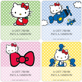 Hello Kitty� Gift Labels