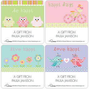 happi Gift Labels