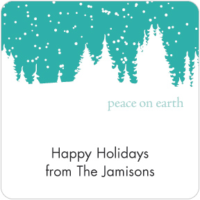 Peace on Earth Gift Labels