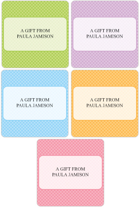 Juicy Gift Labels