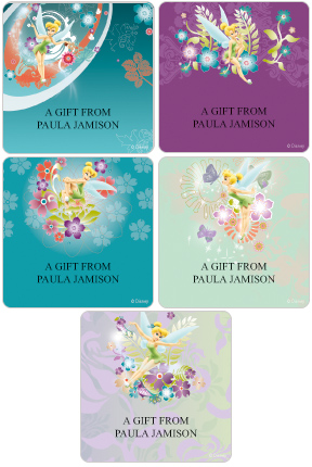 Tinker Bell Gift Labels