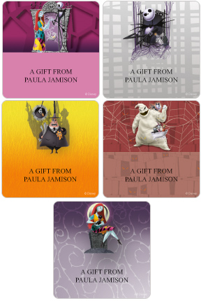 Nightmare Before Christmas Gift Labels
