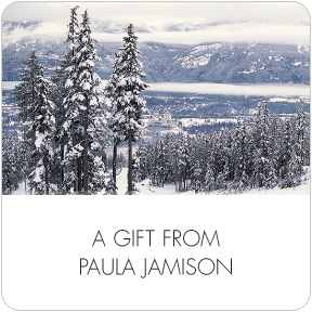 Winterscapes Gift Labels