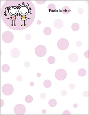 Friendship Polka Dots Note Pads
